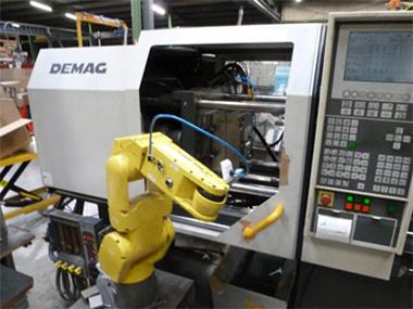 pièces plastique robotisation