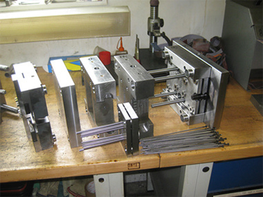 atelier de fabrication de moule