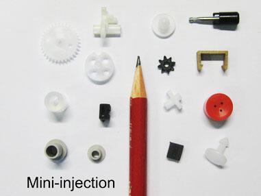 Micro spuitgiet stukken
